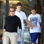 Arnold Schwarzenegger fête ses 64 ans avec ses fils lors d'une journée chargée
