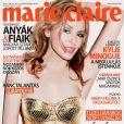 La sexy Kylie Minogue en couverture du Marie Claire hongrois de mai 2011.