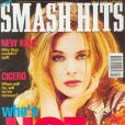 Le phénomène Kylie Minogue s'exporte au delà de son Australie natale. A 24 ans, la voici en couv' du magazine  Smash Hits UK  de janvier 1992.