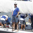 Le 1er août 2011, au premier jour de la 30e Copa del Rey au large de Majorque, la reine Sofia, ses filles Elena et Cristina (avec son époux Iñaki) et leurs enfants suivaient notamment les exploits du prince Felipe à bord de l'Hispano (photo).