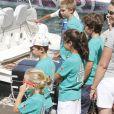 Le 1er août 2011, au premier jour de la 30e Copa del Rey au large de Majorque, la reine Sofia, ses filles Elena et Cristina (avec son époux Iñaki) et leurs enfants suivaient notamment les exploits du prince Felipe à bord de l'Hispano.