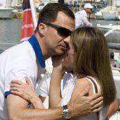 Letizia d'Espagne: Son baiser passionné au prince Felipe, capitaine de son coeur