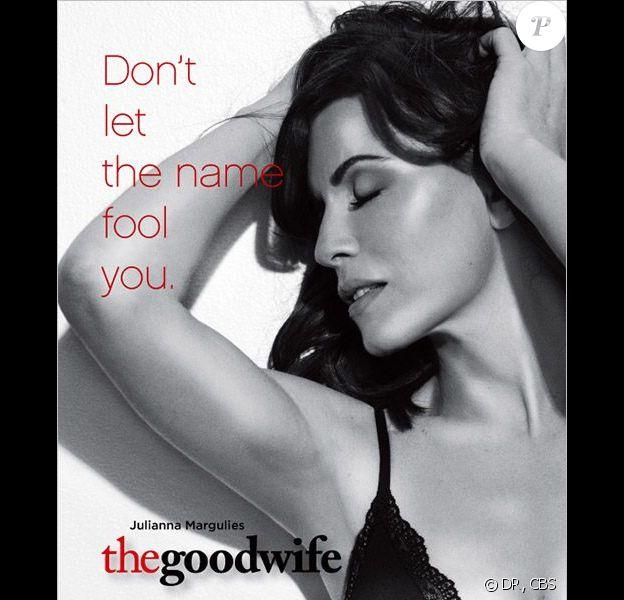 Julianna Margulies sur l'affiche promotionnelle de la saison 3 de The Good Wife !!