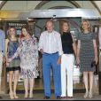 La famille royale d'Espagne étonnamment lookée à Majorque. 4 août 2011