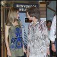 Letizia et la reine Sofia d'Espagne étonnamment lookée à Majorque. 4 août 2011