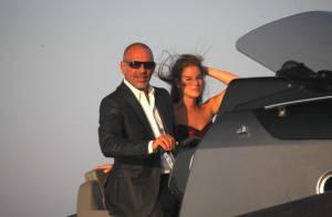 Christian Audigier : En vacances, pour sa douce, il se prend pour James Bond