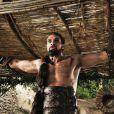 Jason Momoa dans  Le trône de fer , HBO, 2011.