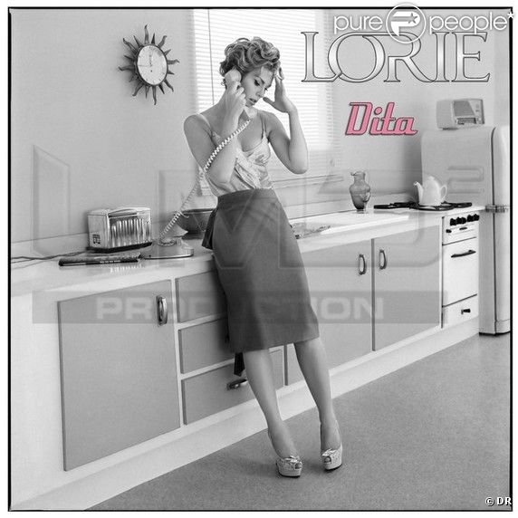 Lorie présente le visuel de son nouveau single, Dita.