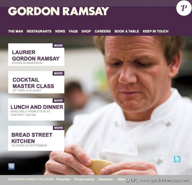 Le Laurier Gordon Ramsay, première franchise du chef britannique Gordon ramsay au Canada, a ouvert ses portes jeudi 11 août au lendemain d'une inauguration qui a coulé !