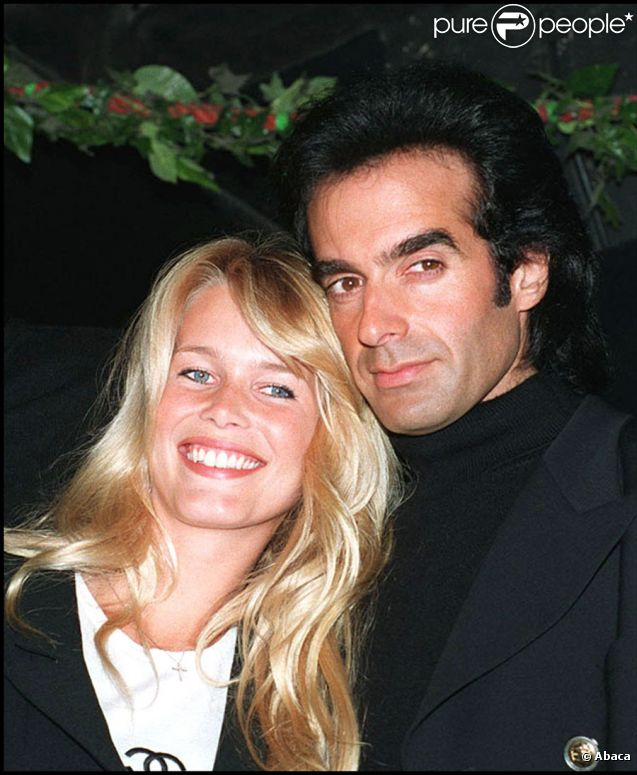 David Copperfield couple