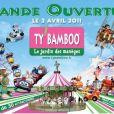 Publicité pour le parc d'attractions Ty' Bamboo