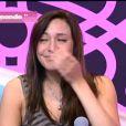 Morgane craque dans Secret Story 5