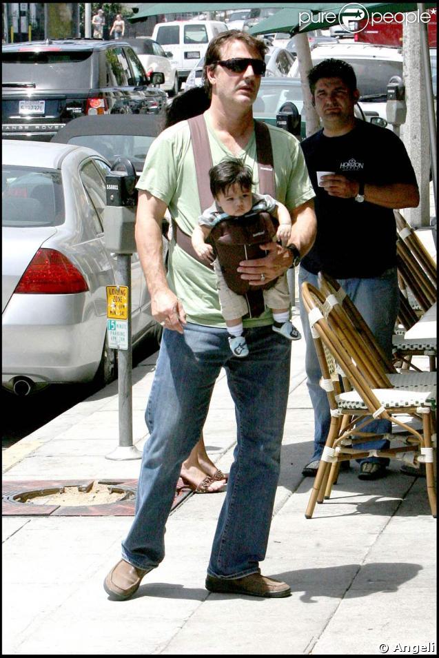 Chris Noth et son fils