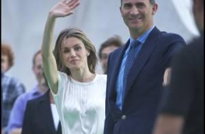 Letizia et Felipe d'Espagne, couple passionné d'un événement impressionnant