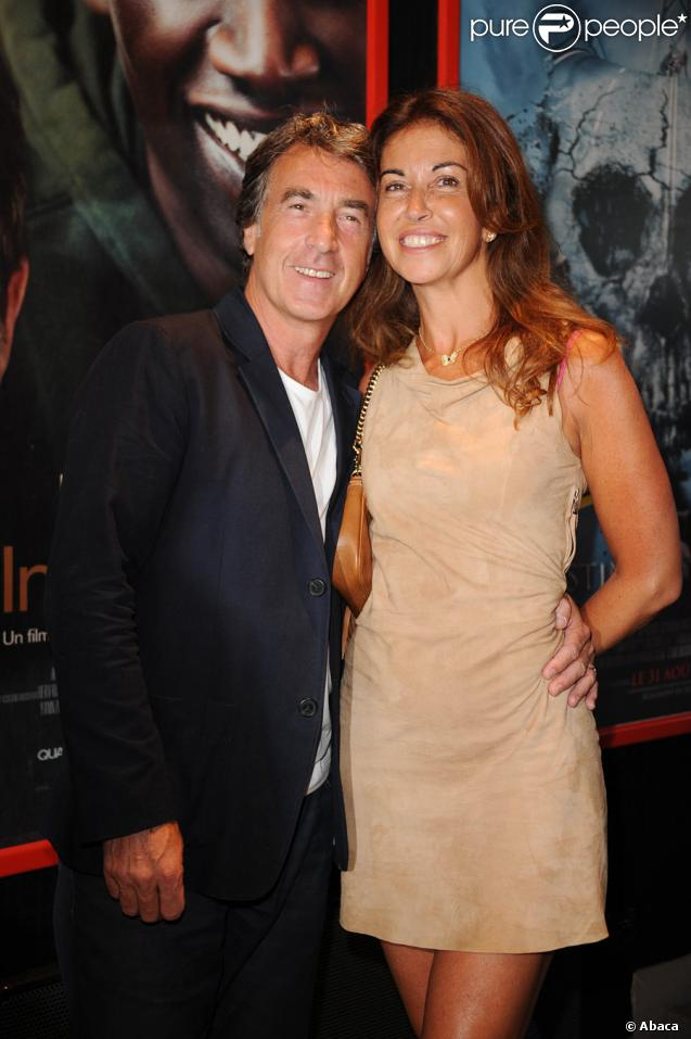 François Cluzet et sa nouvelle bien-aimée lors de la présentation du film Intouchables en ouverture du festival du film francophone d'Angoulême le 24 août 2011