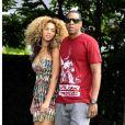Beyoncé et son mari Jay-Z en juillet 2011 à New York