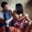 Romain Duris et Audrey Tautou dans L'Auberge espagnole