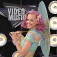 Katy Perry à la cérémonie des MTV Video Music Awards, à Los Angeles, le 28 août 2011.