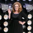 Adele à la cérémonie des MTV Video Music Awards, à Los Angeles, le 28 août 2011.