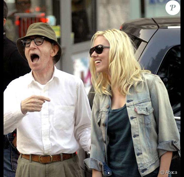 Woody Allen et  Scarlett Johansson