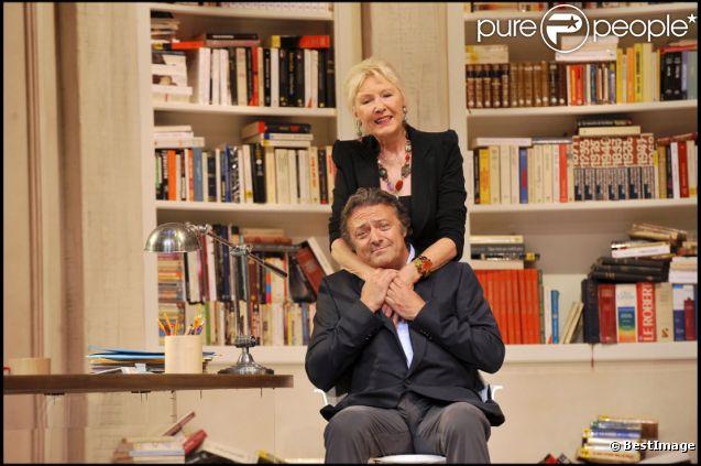 Patrick Guillemin lors du filage de la pièce de théâtre Le Technicien au théâtre du palais royal à Paris en septembre 2010
