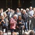 Obsèques de Patrick Guillemin, le 30 août 2011. Roland Giraud, Nicoletta, Jean-Luc Moreau et d'autres amis lui ont dit adieu.
