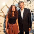 Mélanie Bernier et Marc Lelandais lors du vernissage de l'exposition L'art, l'amour, la mode. Le 1er septembre  2011
