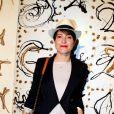 Keren Ann lors du vernissage de l'exposition L'art, l'amour, la mode. Le 1er septembre  2011