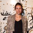 Louise Monot lors du vernissage de l'exposition L'art, l'amour, la mode. Le 1er septembre  2011