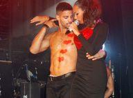 Leona Lewis, très tactile avec son danseur, explore de nouveaux sons