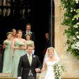 La famille royale au grand complet pour Peter Phillips et Antumn Kelly