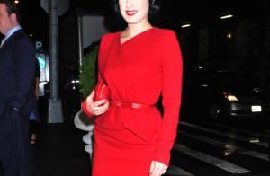 Dita Von Teese : L'effeuilleuse glamour est folle amoureuse de ses talons !