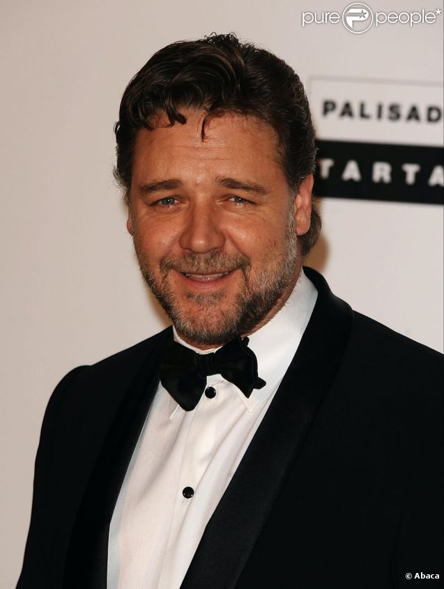 Russell Crowe  à Cannes le 29 mai 2011