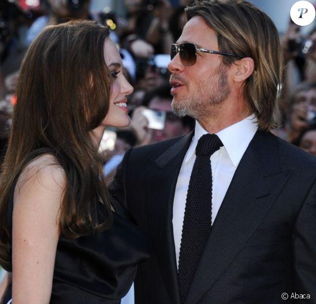 Brad Pitt et Angelina Jolie à Toronto le 9 septembre 2011