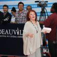 Régine lors de la cérémonie de clôture du festival du film américain de Deauville, le 10 septembre 2011