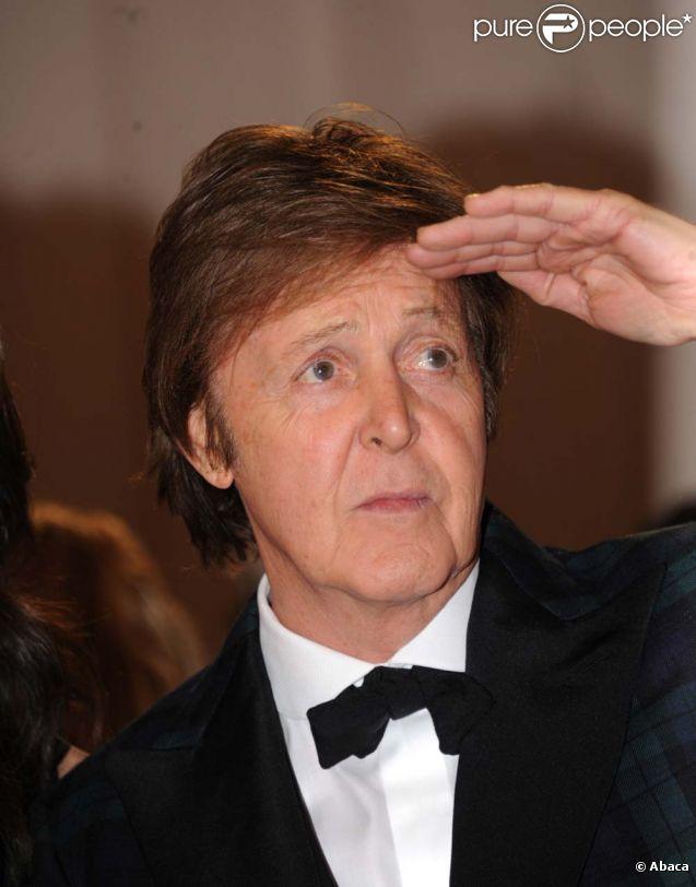 Paul McCartney, à New York, le 2 mai 2011.