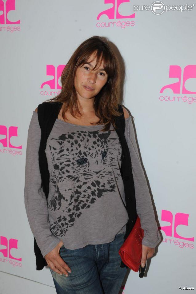 Vanessa Demouy à Paris, en septembre 2011