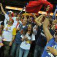 Les supporters français ont donné de la voix lors de la finale des championnats d'Europe de basket face aux Espagnols le dimanche 18 septembre 2011