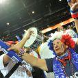 L'équipe de France s'est inclinée en finale des championnats d'Europe de basket face aux Espagnols le dimanche 18 septembre 2011 malgré le soutien du public