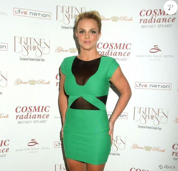 Britney Spears à Londres, en septembre 2011.