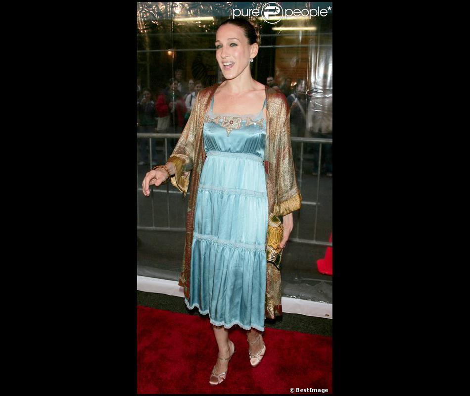 Sarah jessica parker confond tenue de soir e et tenue de for Tenue de mariage conservation nyc