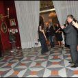 Dita von Tesse présente son premier parfum à la presse, au Negresco à Nice, le 20 septembre 2011.