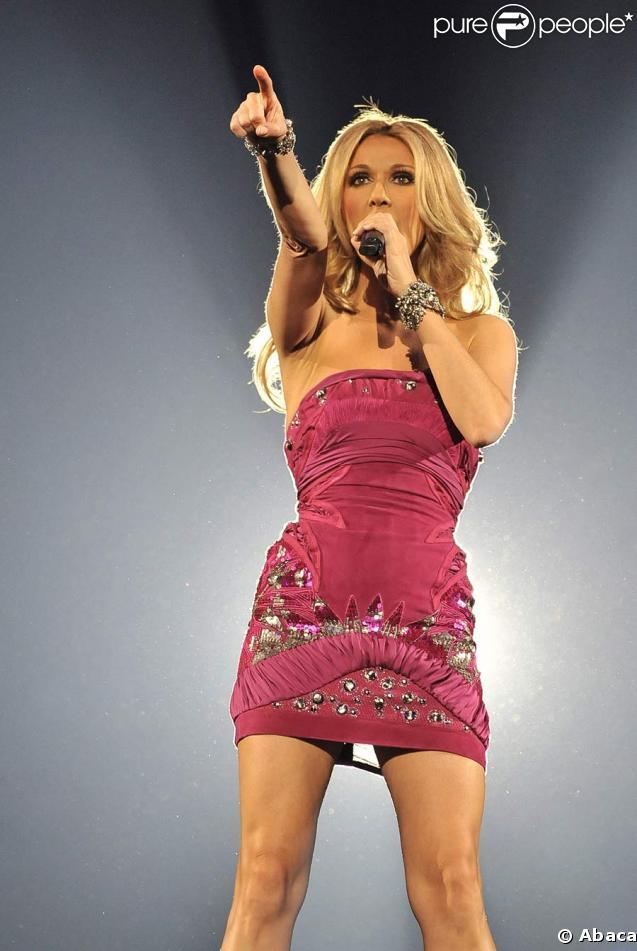 Céline Dion enflamme Bercy le 19 mai 2008