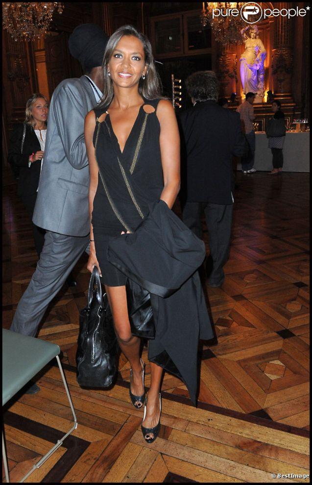 lors du Par Coeur Gala, à l'Hôtel de Ville, à Paris. 26 septembre 2011