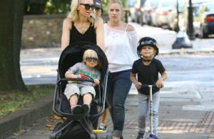 Gwen Stefani : La maman stylée se balade au zoo avec ses craquants fistons