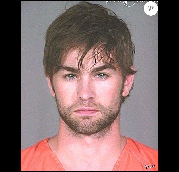Mugshot de Chace Crawford lors de son arrestation en juin 2010