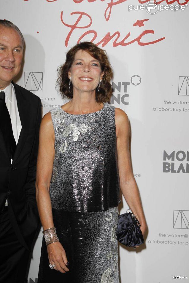 Caroline de Monaco assiste à la célébration des 70 ans de Robert Wilson.
