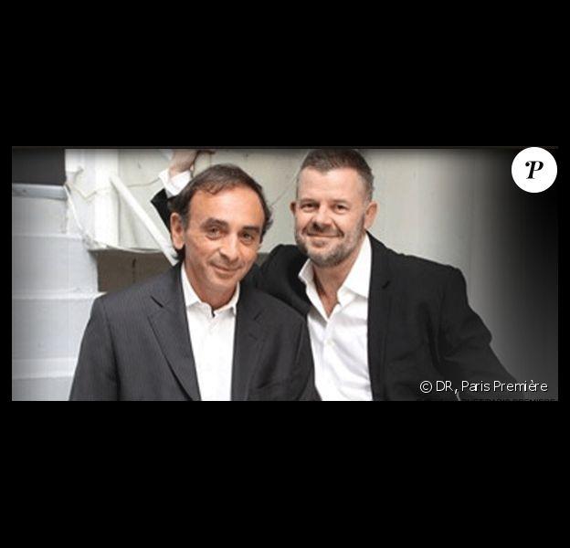 Eric Zemmour et Eric Naulleau tous les vendredis soirs sur Paris Première à 22h45