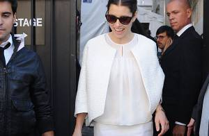 Fashion Week : Clotilde Courau et Jessica Biel, princesses du style chez Valli