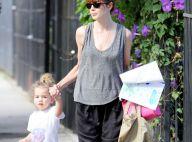 Michelle Monaghan sublime pour aller chercher sa petite Willow à la crèche